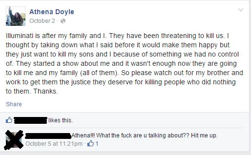 Athena Doyle's Facebook