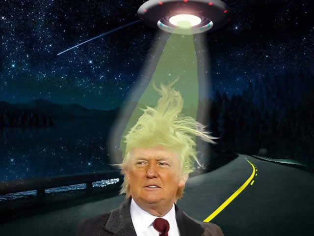 Donald Alien?